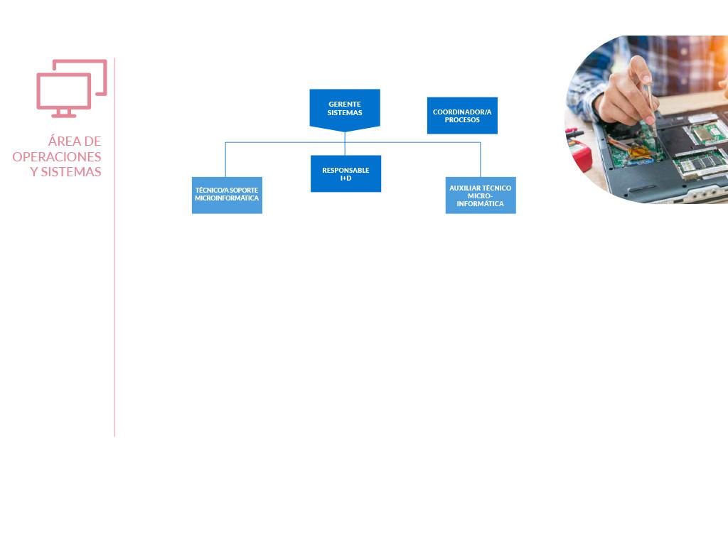 Organigrama de Operaciones y Sistemas